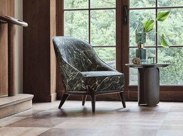 Итальянское кресло SALLY фабрики ANGELO CAPPELLINI