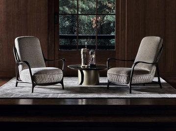 Итальянское кресло CALLAS фабрики ANGELO CAPPELLINI