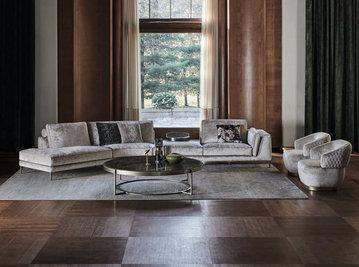 Итальянская мягкая мебель FERDINAND фабрики ANGELO CAPPELLINI