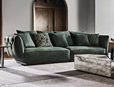 Итальянский модульный диван SIMON фабрики ANGELO CAPPELLINI