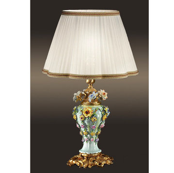 Итальянская настольная лампа P3186 фабрики F.B.A.I.