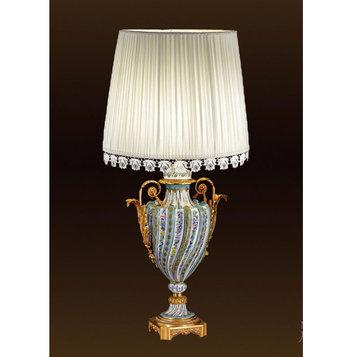 Итальянская настольная лампа P3161 фабрики F.B.A.I.