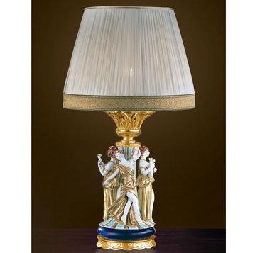 Итальянская настольная лампа P3177 фабрики F.B.A.I.