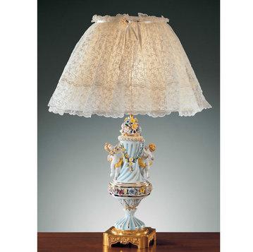 Итальянская настольная лампа P3162 фабрики F.B.A.I.