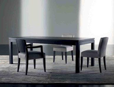 Итальянский стол и стулья DOUGLA фабрики MERIDIANI