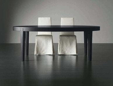 Итальянский стол и стулья POWER фабрики MERIDIANI