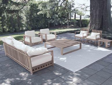 Итальянская мягкая мебель SQUARE фабрики MERIDIANI