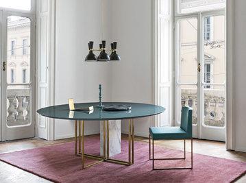Итальянский стол XW  фабрики MERIDIANI