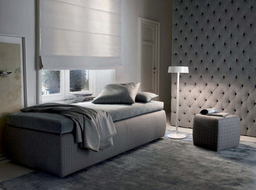 Итальянская кровать TUYO 01 фабрики MERIDIANI