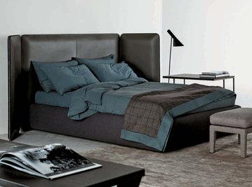 Итальянская кровать TUYO 03 фабрики MERIDIANI