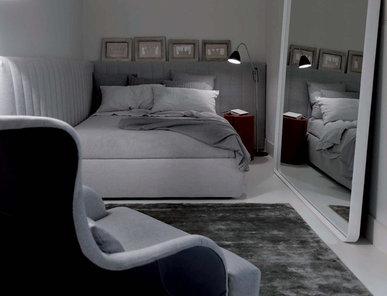 Итальянская кровать TUYO 08 фабрики MERIDIANI