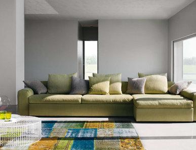 Итальянская мягкая мебель Brad фабрики Biba Salotti