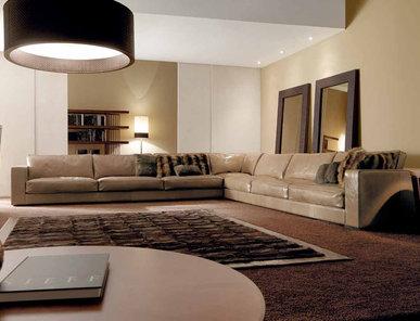 Итальянский модульный диван BILLY SECTIONAL 01 фабрики ULIVI