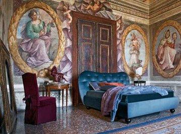 Итальянская кровать Giulietta фабрики TWILS