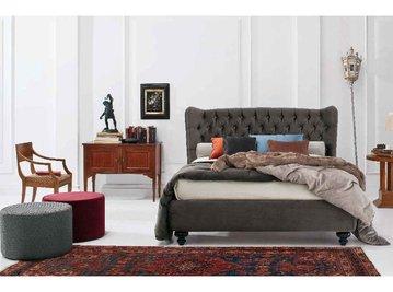 Итальянская кровать Tommy Capitonnè 01 фабрики TWILS
