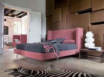 Итальянская кровать Vendôme h.16 фабрики TWILS