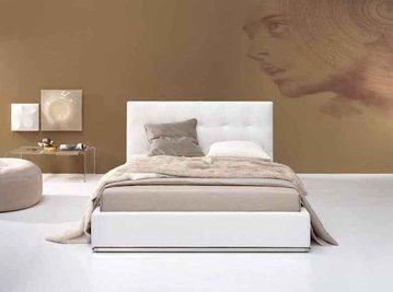 Итальянская кровать Max Capitonnè basso фабрики TWILS