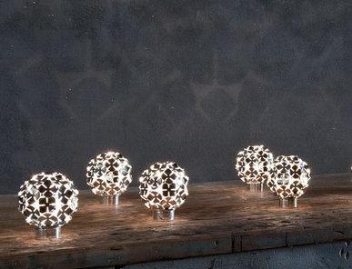 Итальянская настольная лампа Orten'zia 0M50B G7 C8 фабрики TERZANI