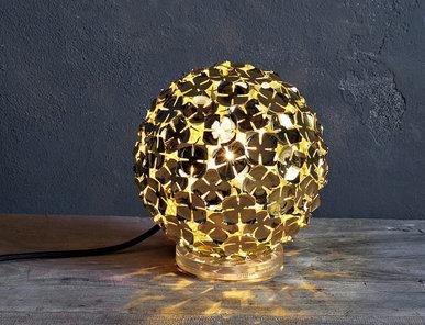 Итальянская настольная лампа Orten'zia 0M48P E7 C8 фабрики TERZANI