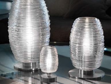 Итальянская настольная лампа DAMASCO фабрики VISTOSI