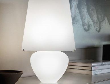 Итальянская настольная лампа NAXOS LT 50 фабрики VISTOSI
