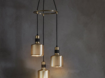 Люстра RIDDLE 3 LIGHTS фабрики BERT FRANK
