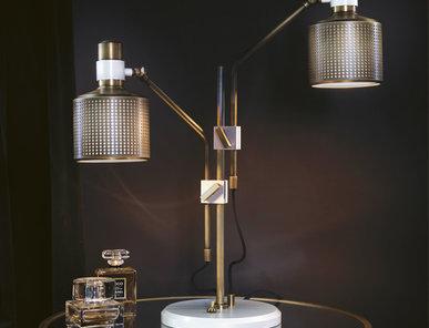 Настольная лампа RIDDLE DOUBLE фабрики BERT FRANK