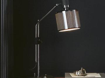 Настольная лампа RIDDLE SINGLE фабрики BERT FRANK