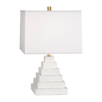 Настольная лампа Canaan Pyramid White фабрики JONATHAN ADLER