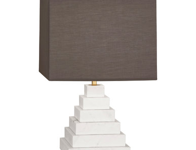 Настольная лампа Canaan Pyramid Grey фабрики JONATHAN ADLER