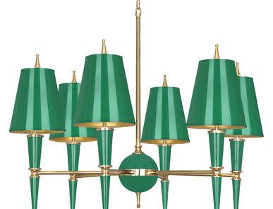 Люстра Versailles Emerald 01 фабрики JONATHAN ADLER