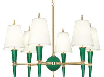 Люстра Versailles Emerald 02 фабрики JONATHAN ADLER