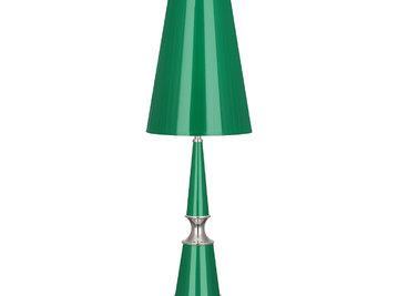 Настольная лампа Versailles Emerald Nickel фабрики JONATHAN ADLER