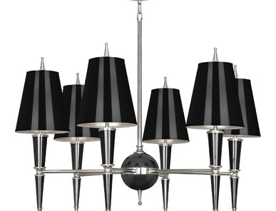 Люстра Versailles Black Nickel фабрики JONATHAN ADLER