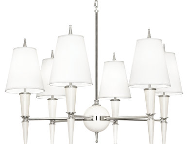 Люстра Versailles White Nickel фабрики JONATHAN ADLER