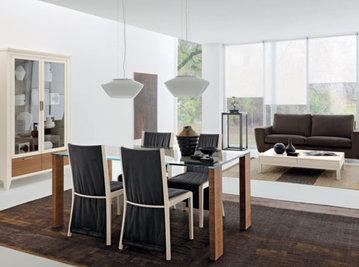 Итальянский стол и стулья Caprifoglio фабрики LE FABLIER