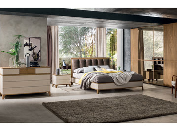 Итальянская спальня Composizione 03 фабрики LE FABLIER