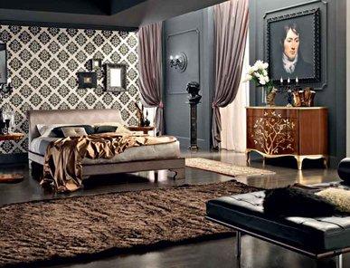 Итальянская кровать Ricciolo  фабрики LE FABLIER