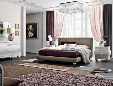 Итальянская кровать  Odetta 01 фабрики LE FABLIER
