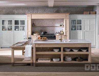 Кухня Gregal Roble Natural Gregal Gris Perla фабрики DOCA
