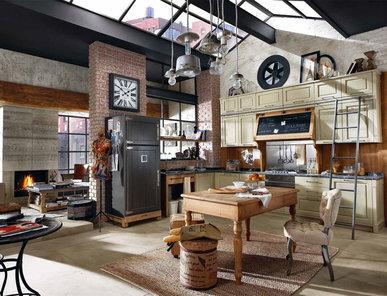 Итальянская кухня NOLITA фабрики IPE CAVALLI