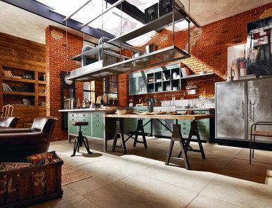 Итальянская кухня LOFT фабрики IPE CAVALLI