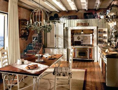 Итальянская кухня INCONTRADA фабрики MARCHI CUCINE