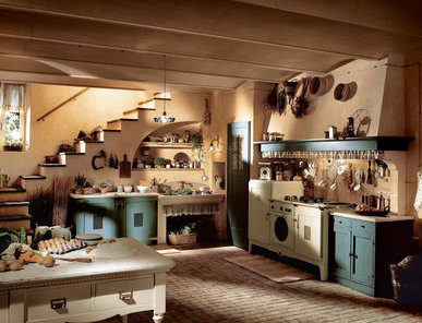 Итальянская кухня DORIA фабрики MARCHI CUCINE