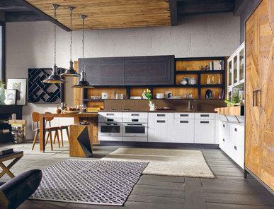 Итальянская кухня LAB 40 02 фабрики MARCHI CUCINE