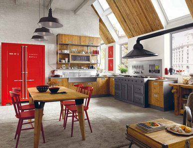 Итальянская кухня LAB 40 03 фабрики MARCHI CUCINE