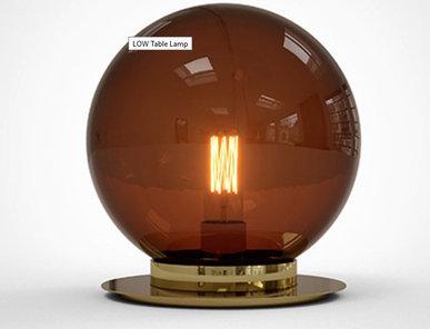 Итальянская настольная лампа TABLE LOW фабрики GIOPAGANI