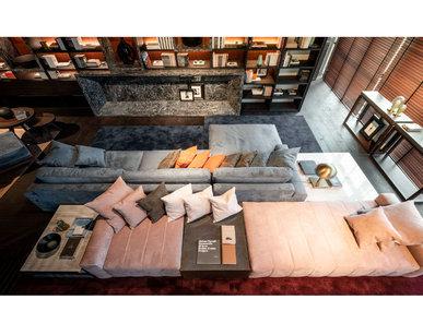 Итальянская мягкая мебель Saint Babila фабрики MAZZALI