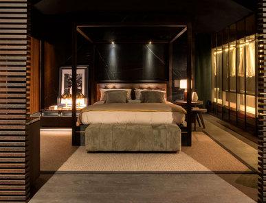 Итальянская кровать Mariposa фабрики MAZZALI