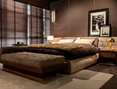 Итальянская кровать Monogram фабрики MAZZALI